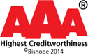 AAA - Highest Creditworthiness - Bisnode 2014